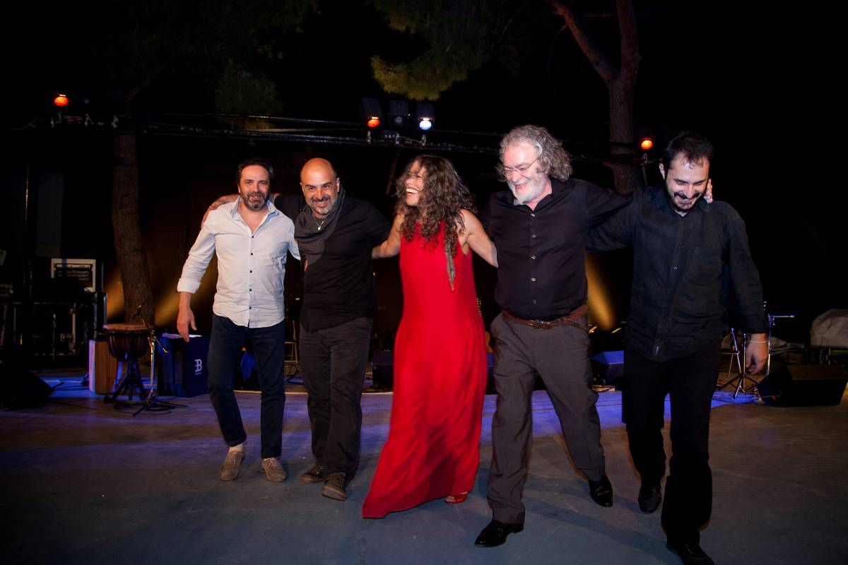 Borda - Velivasaki + Band in Athen
